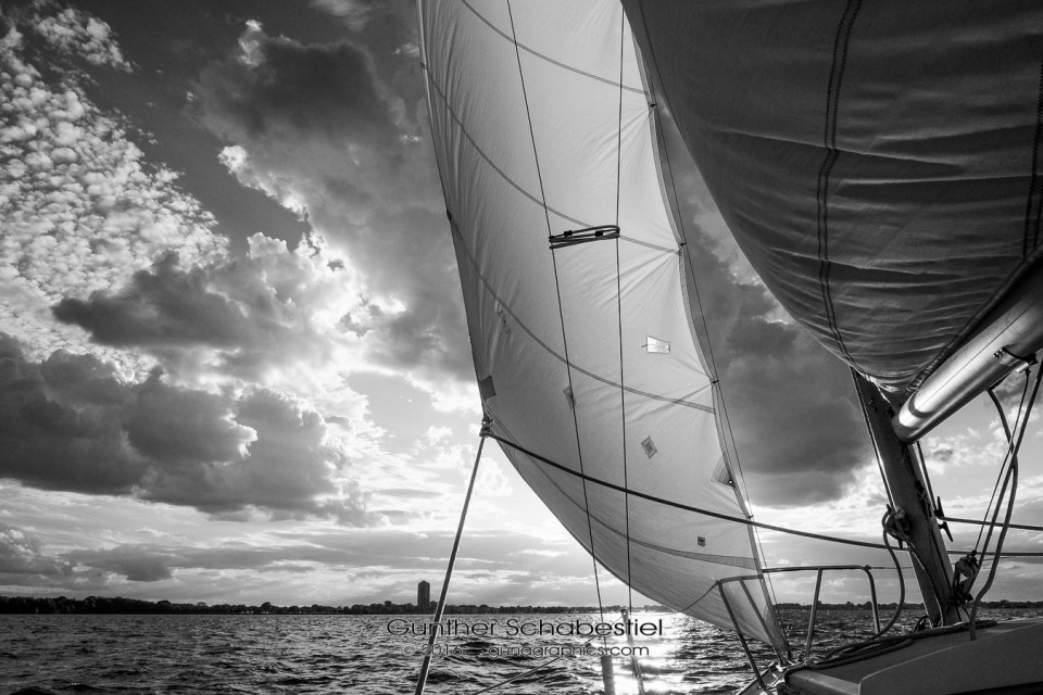 Sail Water and Sky